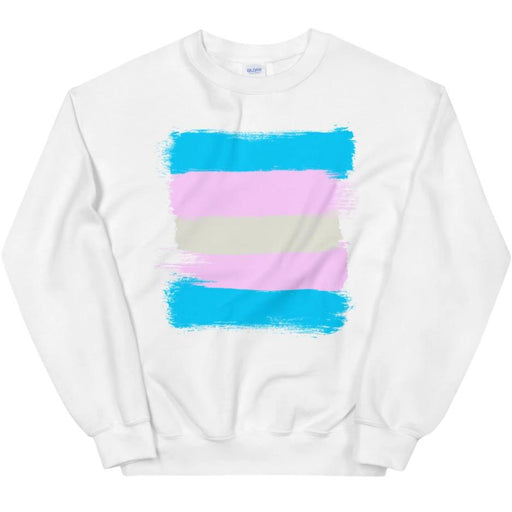 Trans Flag -- Sweatshirt