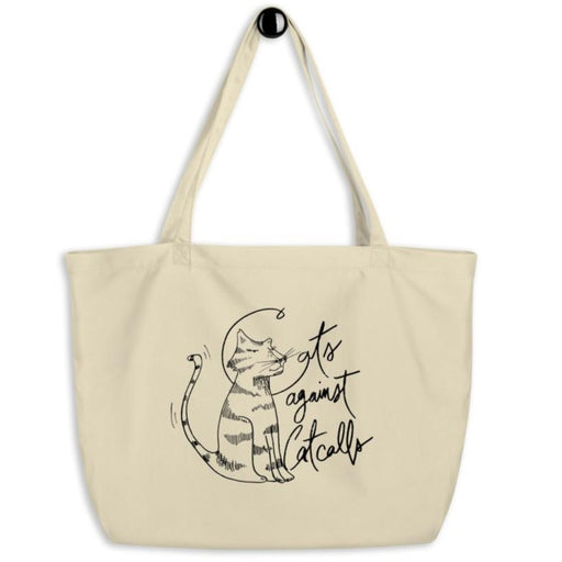 Cats Against Catcalls #2 -- Tote Bag