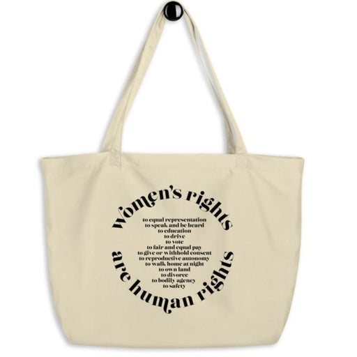 Women's Rights are Human Rights (International Women's Day) -- Tote Bag
