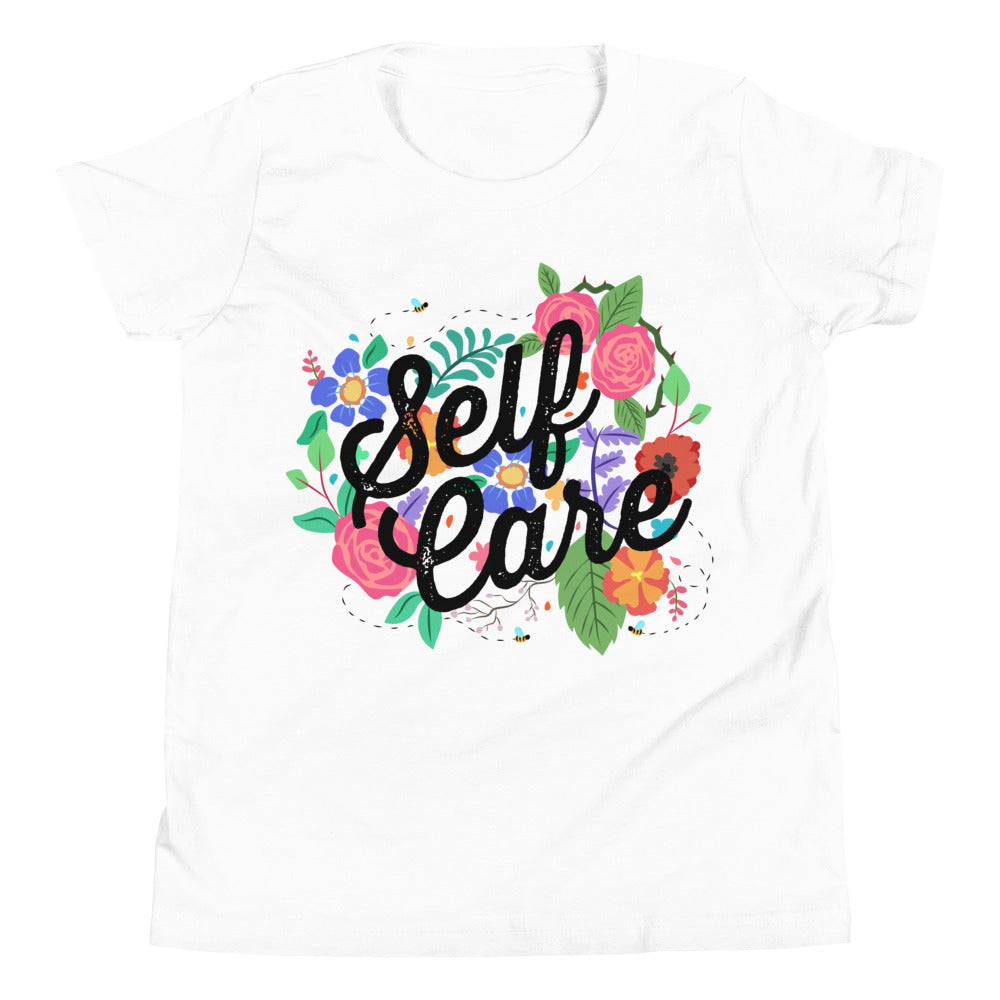 Self Care Flowers -- Youth/Toddler T-Shirt