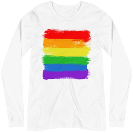 LGBTQIA+ Flag -- Unisex Long Sleeve
