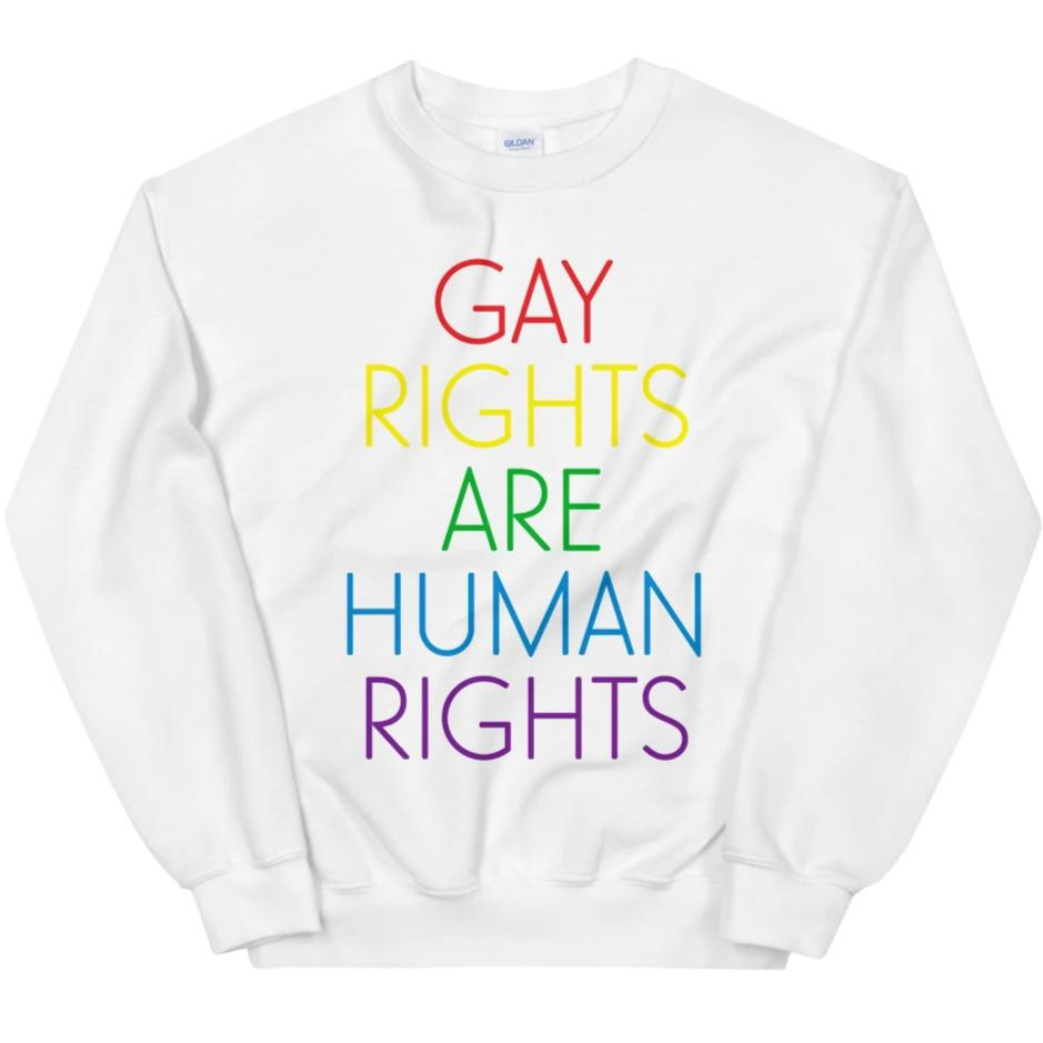 Gay Rights Are Human Rights -- Sweatshirt