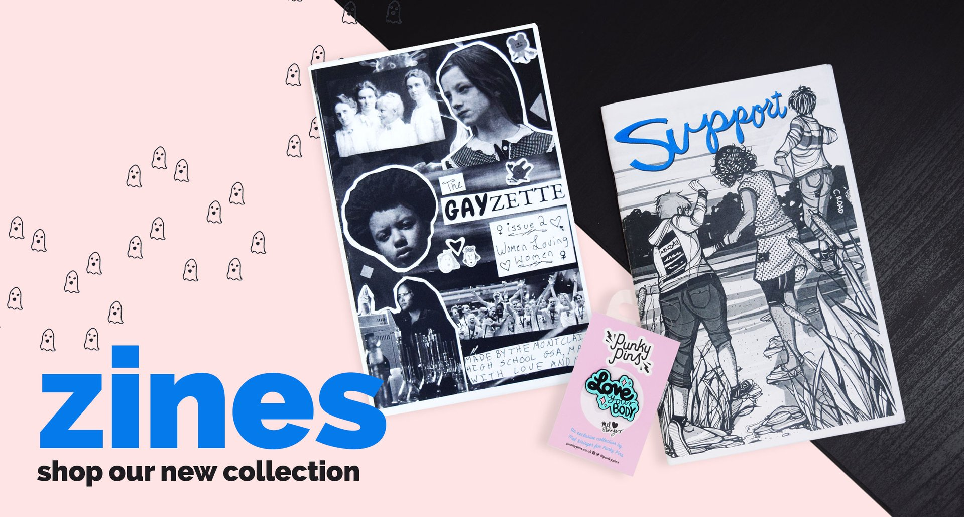 Shop our new zines collection!