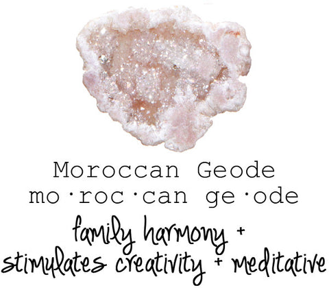 Moroccan Geode