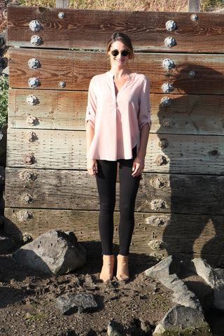 THE DANICA Blush TOP