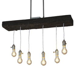 New York City RailRoad Tie Chandelier