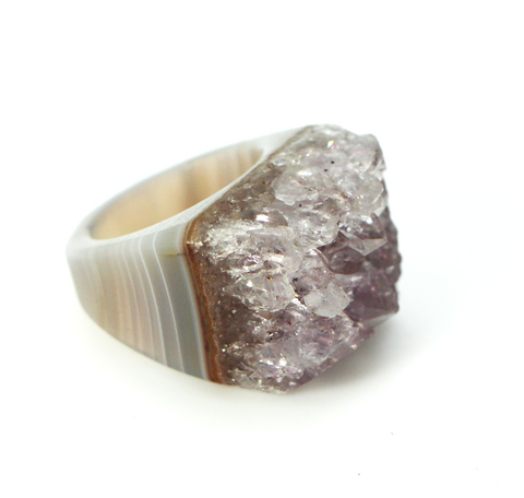 Agate Ring