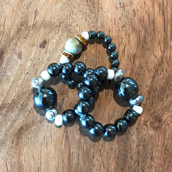 Hematite Magnetic WeightLoss Rings