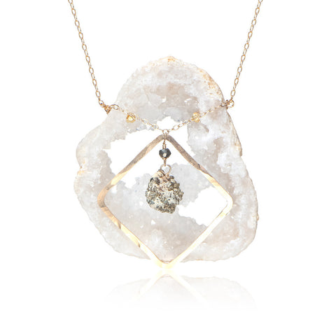 Geode Fancy Equality Mid-Necklace