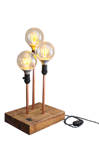 10X10 3 Bulb WATERFALL TRIO Light