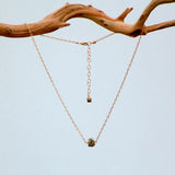 PYRITE SM SIMPLE ROCK NECKLACE