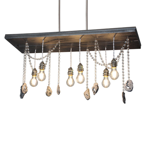 Titanium Steel Chandelier