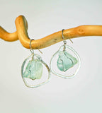SEA GLASS SM 1 DROP CHANDELIER EARRINGS