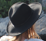 Connor Fedora Black