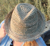 Carmen Fedora Sea Grass