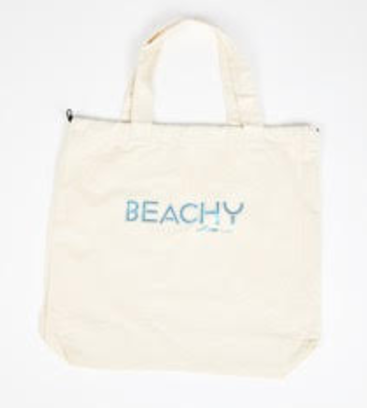 I AM ... Beachy Big Bag - Natural