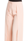 IRDC Open leg long flowing pants - Blush
