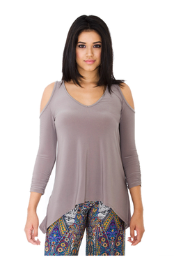 IRDC-Shoulder Cut-Out - Taupe