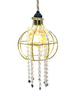 VINTAGE-CAGE Light-Circle w/pyrite