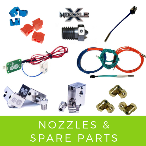E3D Spare Parts and Accessories