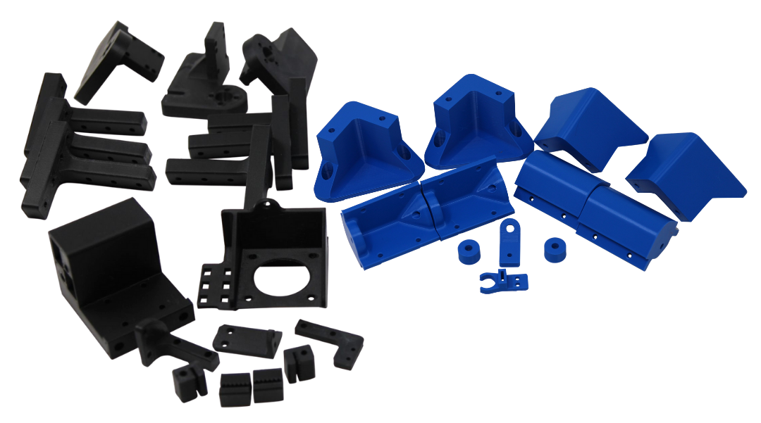 Printed parts for ZL/ZLT