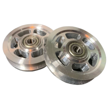 Railcore II 300ZL/ZLT Magnum Idler Pulleys by Mandala Rose Works