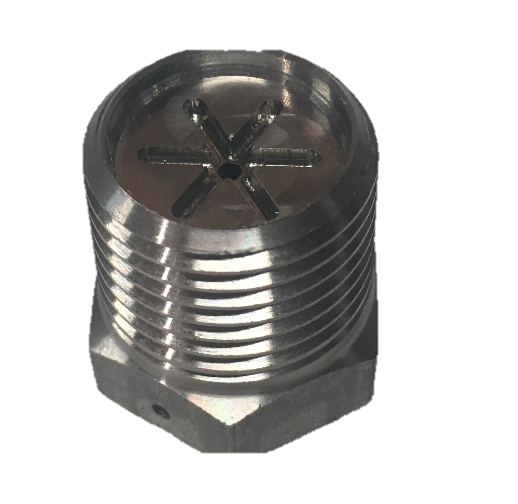 Stainless Steel Nozzle/Die with Integrated Melt Filter