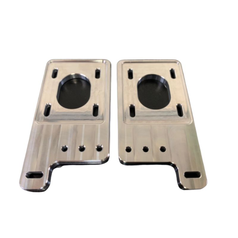 Railcore II 300ZL/ZLT NEMA 17 Stepper Mounts (set of 2) from Mandala Rose Works