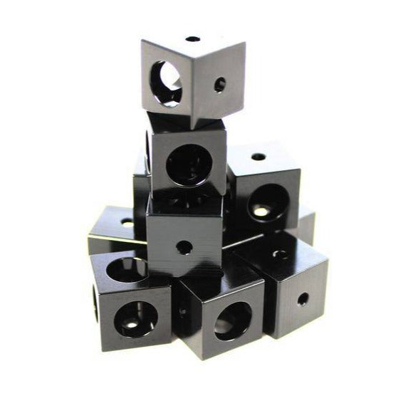 Makerbeam Black 15mm Corner Cubes