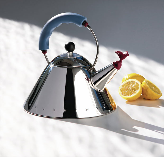 Alessi - Kettle 9093 - Blue