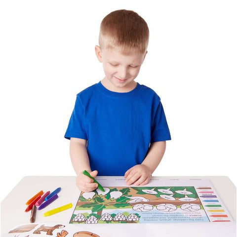 Melissa & Doug - Colours & Shapes Activity Pad