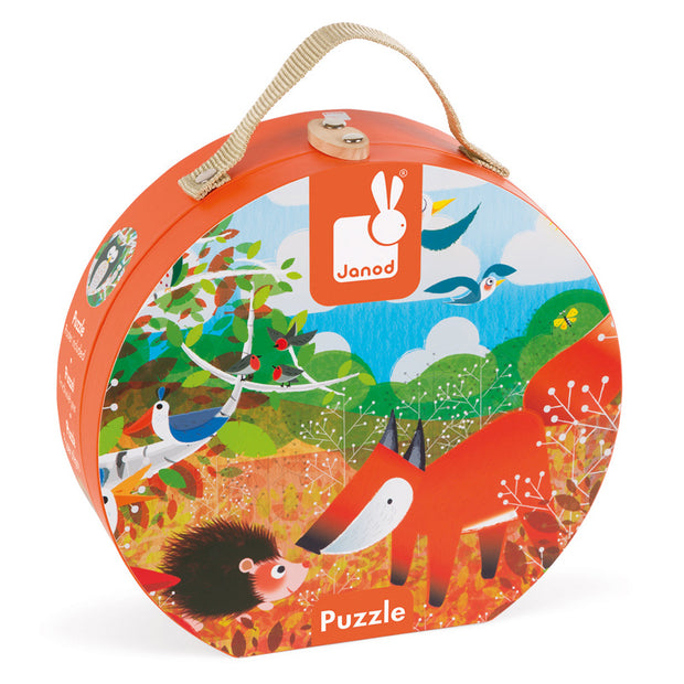 Janod - Forest Animals Suitcase Puzzle
