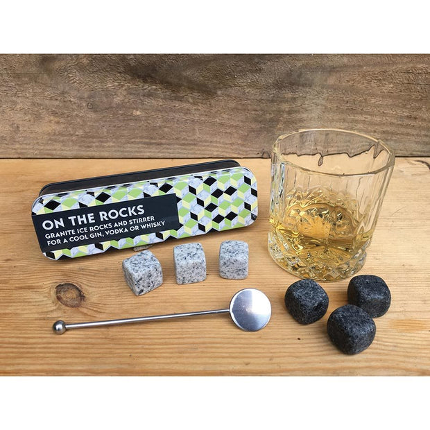 On The Rocks - Whisky Kit in a Tin