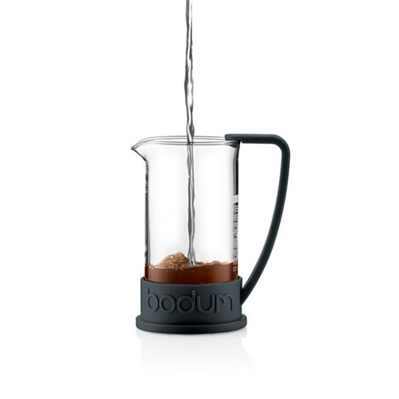 Bodum - Brazil French Press Coffee Maker - Black - 8 Cup