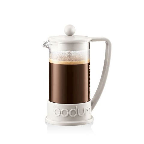 Bodum - Brazil French Press Coffee Maker Off-White - 3 Cup