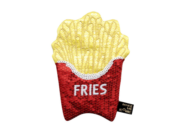 Make Me Iconic Sequin Purse - Fries