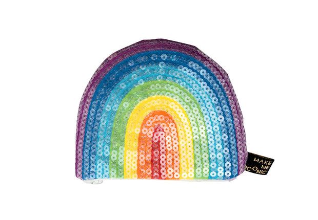 Make Me Iconic Sequin Purse - Rainbow