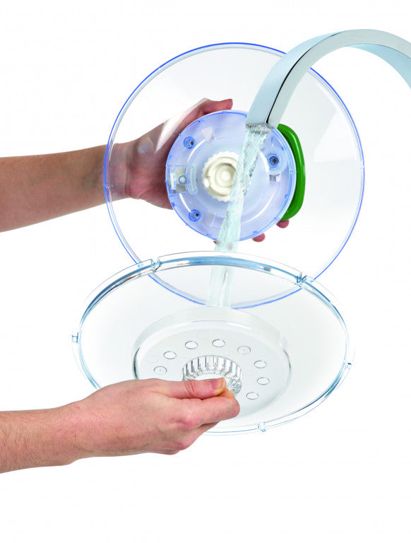 Zyliss - 'Easy Spin' Small Salad Spinner - White
