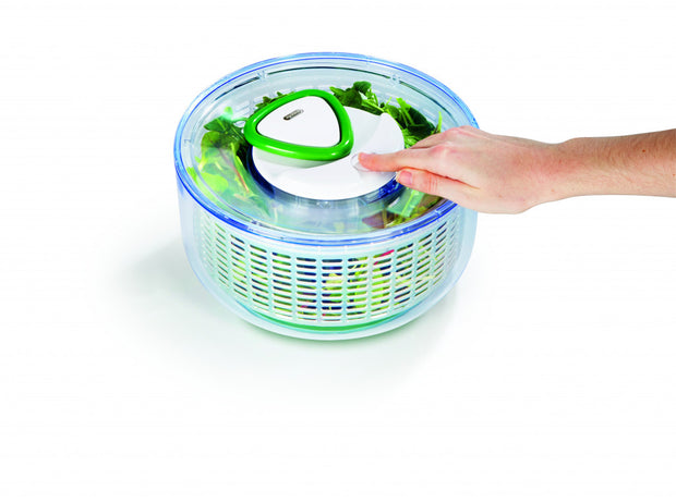 Zyliss - 'Easy Spin' Large Salad Spinner - White