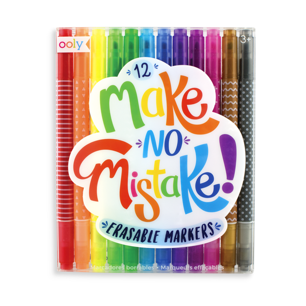 Ooly - Make No Mistake Erasable Markers
