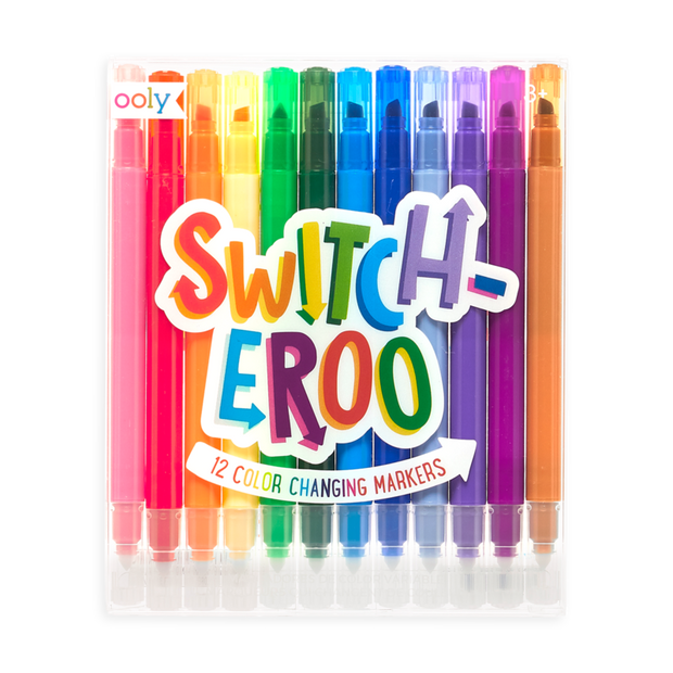 Ooly - Switch-eroo Colour Changing Markers