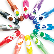 Ooly - Yummy Scent Glitter Gel Pens - Pack of 12