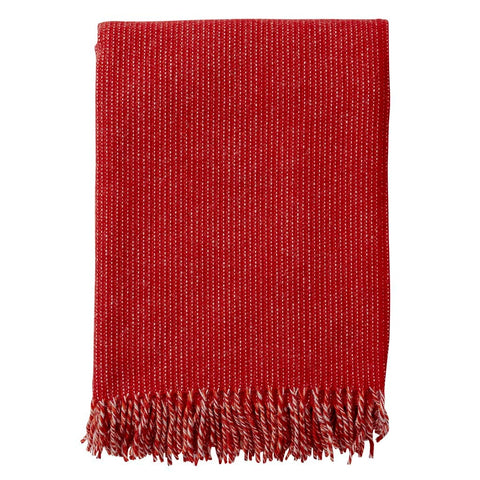 Klippan - Shimmer Blanket Red