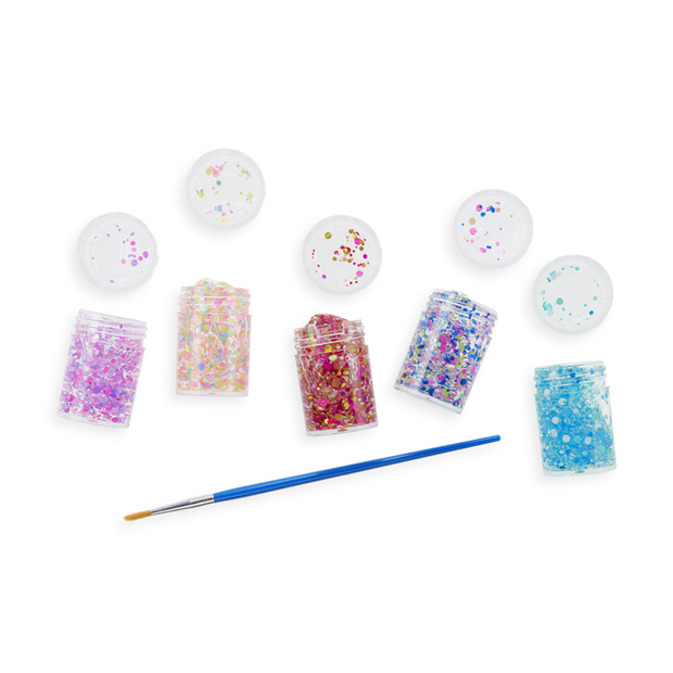 Ooly - Mini Dots Pixie Paste Glitter Glue - Set of 5