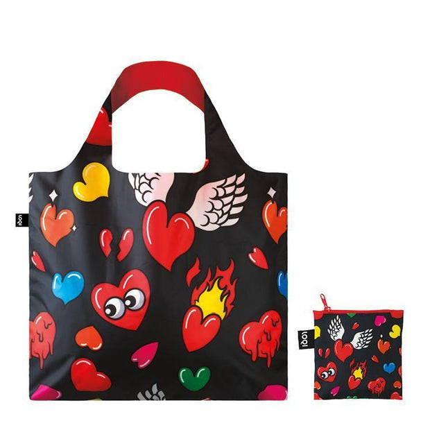 LOQI - Shopping Bag Pop Collection: Heart