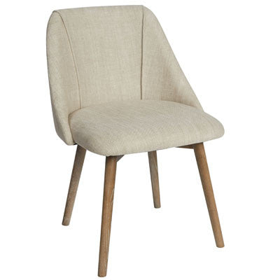 Savannah Linen Chair - Natural