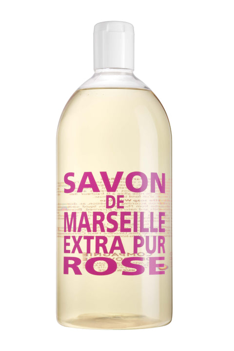 Savon de Marseille - Liquid Soap Refill 1L - Rose