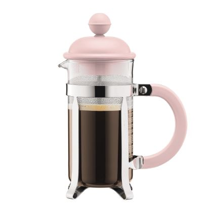Bodum Caffettiera Coffee Maker 3 Cup (12oz) Pink