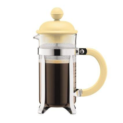 Bodum Caffettiera Coffee Maker 3 Cup (12oz) Yellow