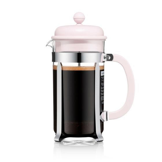 Bodum - Caffettiera Resin French Press - 8 Cup - Strawberry